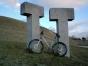 Mountainbike am Hohenkarpfen
