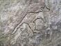 Urzeitliche Wandmalerei 1
