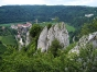 Petersfels in Beuron