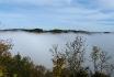 Bronnen im Nebel