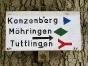 Vom Konzenberg zum Lupfen