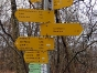 Wegweiser im Donautal