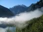 Königssee mit Nebel